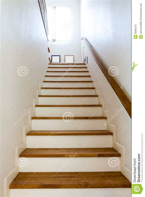 wood stairs  handrail stock photography image