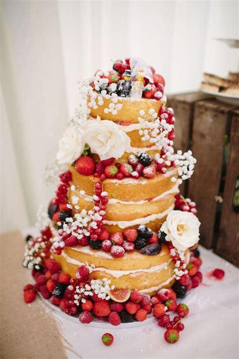 The 25 Best Fruit Wedding Cake Ideas On Pinterest