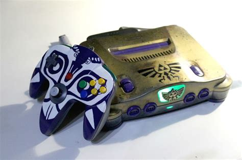 Custom Legend Of Zelda Majoras Mask Nintendo 64 And N64