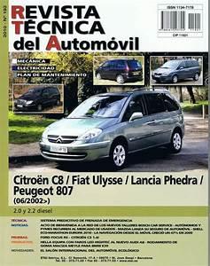 Manual De Taller Y Mecanica Citroen C8 2 0hdi  2 2hdi