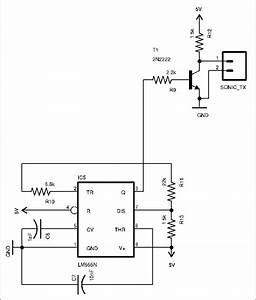 Ultrasonic Transmitter Circuit