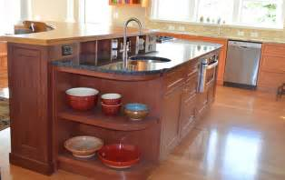 curved kitchen cabinets curved cabinets for curved kitchen island in maine by