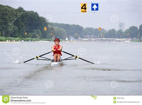 Skiff Aviron by Aviron De Skiff Images Stock Image 15007784