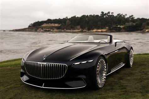 maybach mercedes 2017 monterey the vision mercedes maybach 6 cabriolet