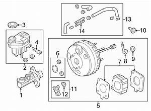 Ford Explorer Brake Vacuum Hose  Liter  Non  Police