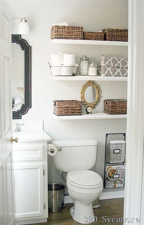 small bathroom shelves ideas 11 fantastic small bathroom organizing ideas toilets bathroom ideas and white floating shelves