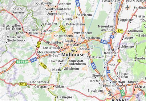 maison des delices mulhouse carte carte d 233 taill 233 e mulhouse plan mulhouse viamichelin