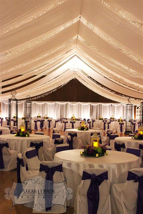 Ceiling Tent by Purple Wedding With Tent Ceiling Lds Cultural