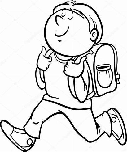Student Clipart Boy Coloring Teacher Grade Students