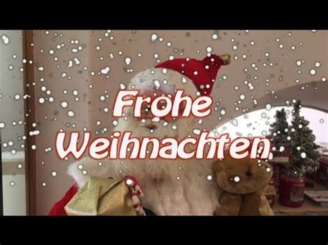 weihnachtsgruesse  vom weihnachtsmann youtube