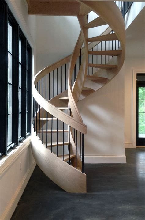 curved stairs design construction artistic stairs