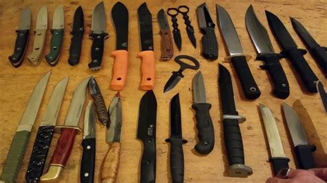Knife Collection by Knife Collection Dec 2016 Fixed Blades