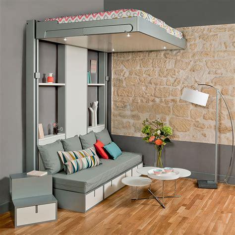 chambre de bonne marseille lits escamotables espace loggia