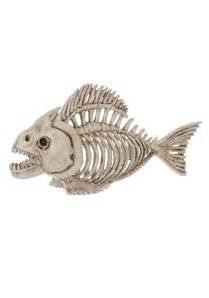 Outdoor Halloween Decorations Uk by Skeleton Fish