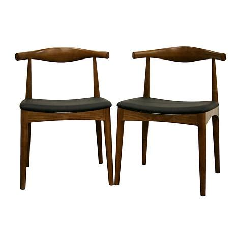 sonore solid wood mid century style accent dining chair