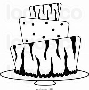 Black And White Wedding Cake Clip Art | Clipart Panda ...