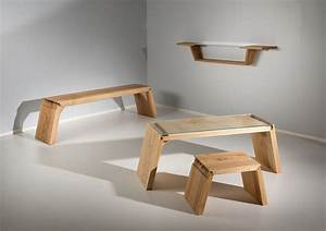 Broken: Furniture that Explores the Defects in Wood