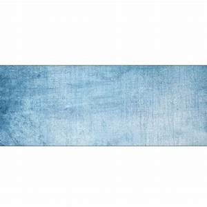 Fond De Lit : papier peint t te de lit fond bleu jean art d co stickers ~ Teatrodelosmanantiales.com Idées de Décoration
