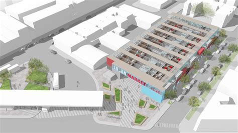 logan square architects pitch market concept for parking