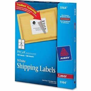 avery easy peel address label ld products With avery shipping labels 5164