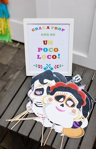 colorful coco party ideas pretty  party party ideas