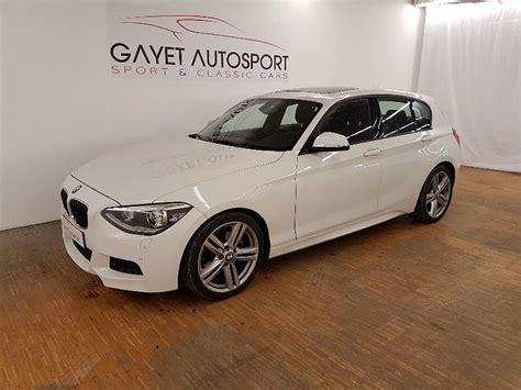 bmw serie 1 f20 5 portes 125d 218 ch m sport berline blanc occasion 20 900 86 000 km