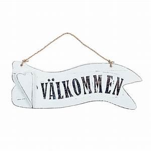 Kissen Auf Schwedisch : willkommensschild holzschild v lkommen bei min butik online kaufen ~ Eleganceandgraceweddings.com Haus und Dekorationen