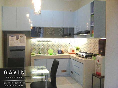 Contoh Kitchen Set Duco Biru Muda Di Cipondoh Kitchen