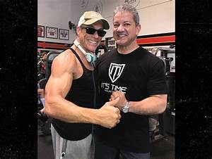 Jean-Claude Van Damme & UFC's Bruce Buffer Get Jacked at ...