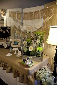 Burlap and Lace Wedding Decor Ideas | WEDDING ~ Burlap ...