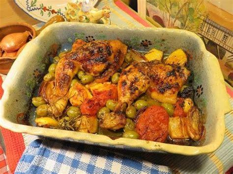 cuisiner une cuisse de poulet recette cuisses de poulet rôties au four citron olives