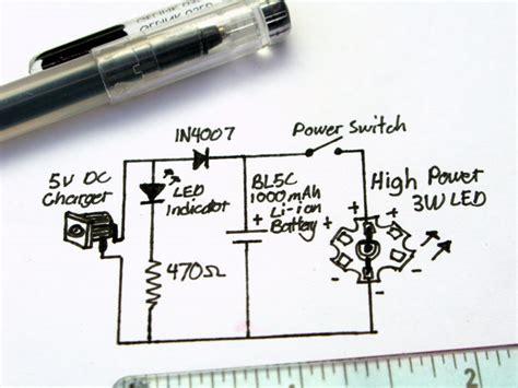 Li Led Flashlight Diagram by Ultrabright Led Emergency L Rechargeable 5