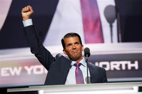 trump jr donald worth convention him rnc republican speech national loans quicken much speaking he pigtails think retweets barack obama