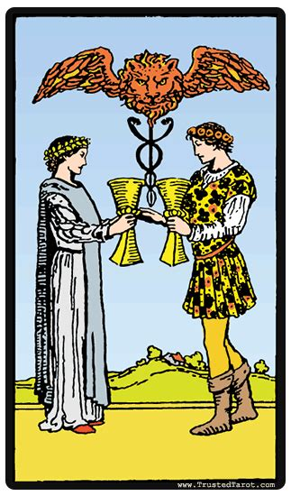 Two Of Cups Tarot Card  Meaning, Timing, & More