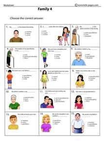 Family Printable Worksheets