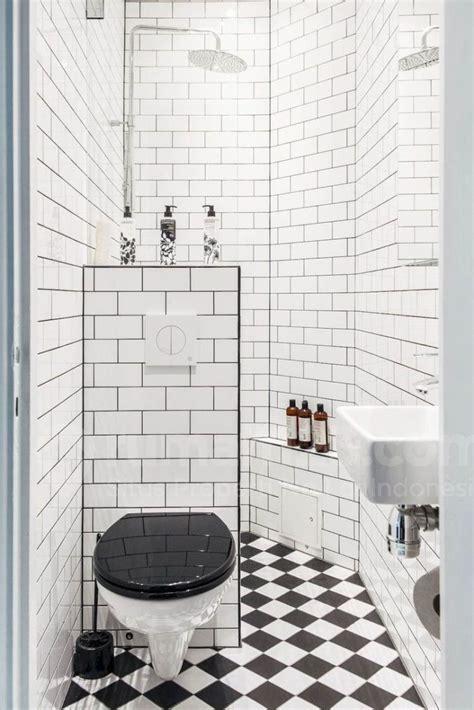 kamar mandi kecil  meter persegi bisa terlihat mewah
