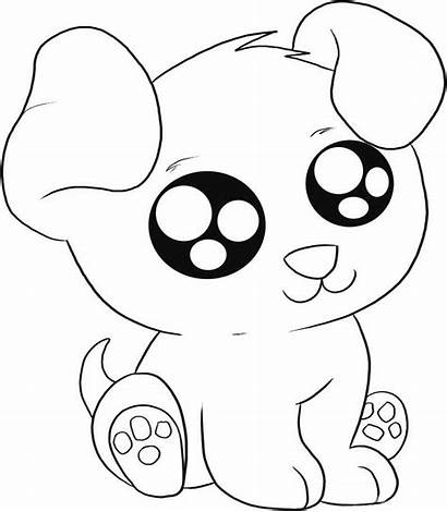 Puppy Coloring Pages Eyed