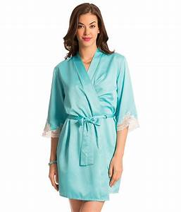 buy prettysecrets blue polyester robe online at best With robe polyester