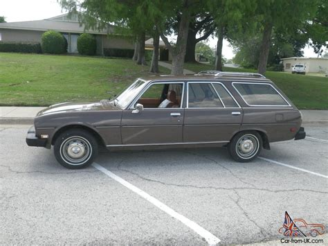 Peugeot 504 Wagon by 1982 Peugeot 504 Diesel Wagon 4 Speed Manual Serviced