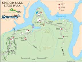 Kincaid Lake State Park Map