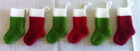 miniature christmas stockings miniature 183 a 183 yarn craft and crochet on cut out keep