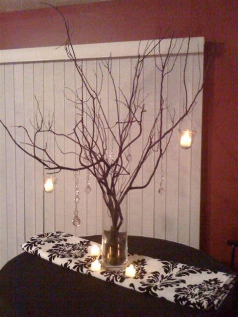 diy wedding centerpieces branches branch centerpiece in