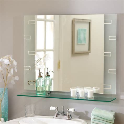 ideas for mirrors in bathrooms bathroom mirror decorating ideas houseofphy com