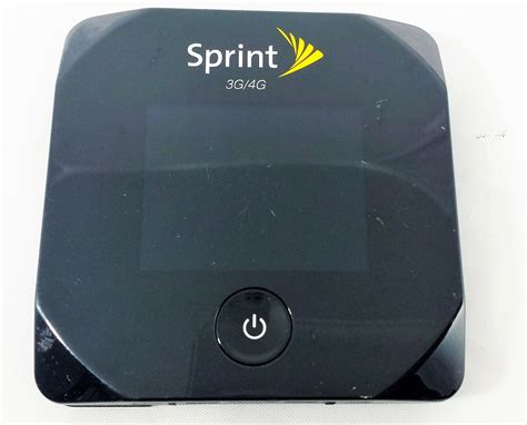 sprint iphone hotspot sprint wireless overdrive pro 4g swac802 mobile
