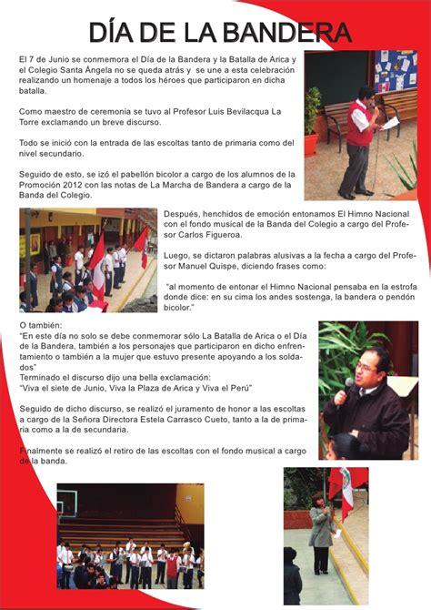 frases por el dia de la bandera peruana d 237 a de la bandera