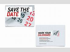 Save The Date Announcement Template Design