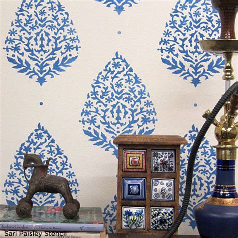 Home Decor Trend Stencil The Glamour Of India