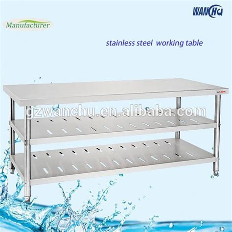 stainless steel kitchen island bench stainless steel work bench stainless steel kitchen table 8253