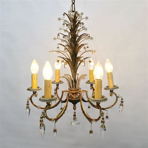 chandelier w two matching sconces