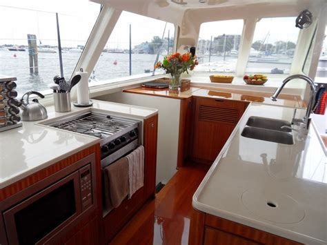 boat galley kitchen designs 61 best catamaran galleys or yacht interiors kitchens 4853